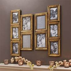 la collage picture frame available in silver or gold