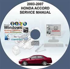 small engine service manuals 2007 honda fit windshield wipe control honda accord include v6 2003 2007 service repair manual on cd www servicemanualforsale com