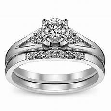 queenly inexpensive diamond wedding set 0 25 carat diamond