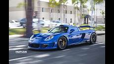 Gemballa Mirage Gt - gemballa mirage gt loud revs and fast acceleration at