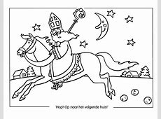 Kleurplaat Sinterklaas Kleurplaat Sinterklaas Overig