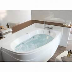 mettre une à la place d une baignoire baignoire baln 233 o avec tablier asym 233 trique l 160x l 100 cm