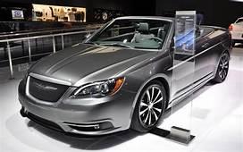 2017 Chrysler 200 Convertible  News Reviews Msrp