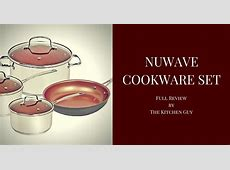 Nuwave Cookware Induction Set Review