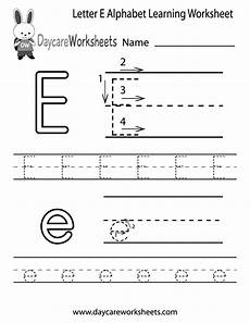 letter e tracing worksheets for preschool 23587 free letter e alphabet learning worksheet for preschool
