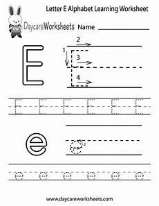 letter e worksheets 24106 free letter e alphabet learning worksheet for preschool