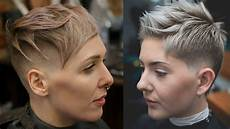 extreme short haircuts undercut short hair extreme hair makeover youtube