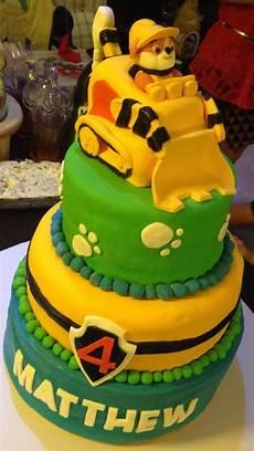 Gratis Malvorlagen Paw Patrol Cake Rubble Cake Paw Patrol Paw Patrol Cake Birthday