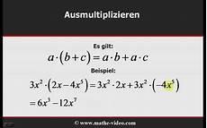 terme multiplikation division rechnen mit klammern