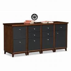 home office furniture black home office furniture oslo black credenza desk