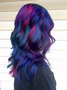 cool multicolored hair by www danazhaircuts scene hair hair multicolored hair