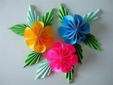 knutselen met papier bloem bloemen maken papier
