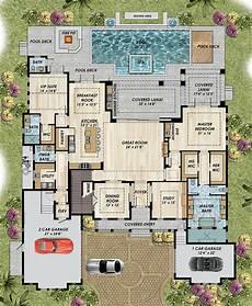 mediterranean house plans with pool plans maison en photos 2018 print coastal florida