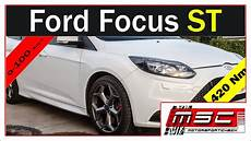 Ford Focus St 0 100 - ford focus st turnier 0 100 100 200 topspeed exhaust sound