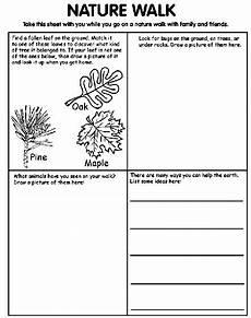 nature walk worksheet preschool 15153 the world s catalog of ideas