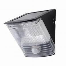 all pro 100 degree black motion activated solar powered led flood light msled100 the home depot
