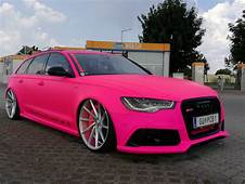 Extrem Krass  Performance Carsat Audi RS6 C7 In PINK