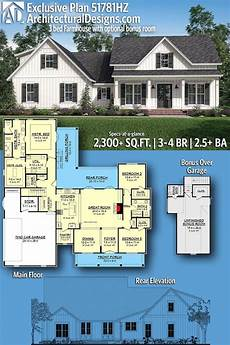 plan 149005and downsized exclusive 3 bed house plan plan 51781hz exclusive 3 bed farmhouse plan with optional