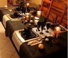 Table De Fete Noir Or Et Argent D 233 Co Table No 235 L 2018