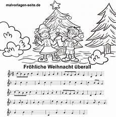 fr 246 hliche weihnacht 252 berall noten und text zum ausdrucken