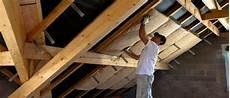 l isolation du plafond d un garage