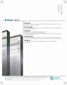 pmma cast acrylic properties data sheet polimer