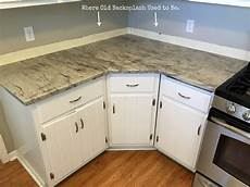 Countertops No Backsplash how to install a tile backsplash without thinset or mastic