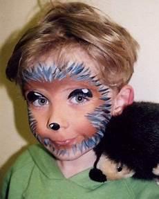 gesicht schminken igel 17 besten kinderschminken bilder auf bemalte
