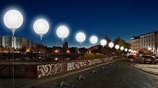 stunning 8 000 light balloons re enact berlin wall path for 25th anni of its fall video rt news