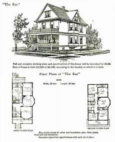 1905 hodgson rae victorian house plans folk victorian