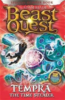 Beast Quest Malvorlagen Indonesia Tempra The Time Stealer Adam Blade 9781408340783