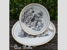 ~Que Bella~: Royal Chelsea Tea Cup and Saucer