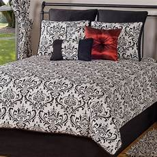 black and white damask comforters american made home