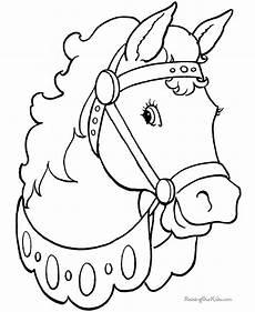 Malvorlagen Pferdekopf Kostenlos Pferdekopf Vorlage Zum Ausschneiden Vorlagen Zum