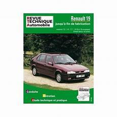 Revue Technique Renault 19 Rta Site Officiel Etai