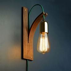 Walnut Wall Light Wall Sconce Interior Lighting Wooden
