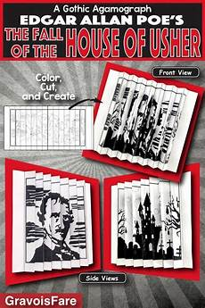 the fall of the house of usher lesson plans edgar allan poe s the fall of the house of usher activity
