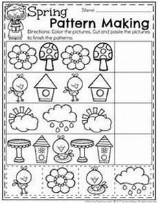 spring preschool worksheets preschool worksheets