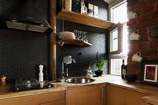 Black Backsplash Kitchen 12 Subway Tile Backsplash Design Ideas Installation Tips