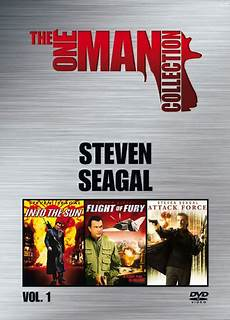 the one man the one collection vol 1 steven seagal 3 disc