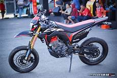 Modifikasi Crf 150 by Intip Modifikasi Honda Crf150l Supermoto By Ahm Gambaran