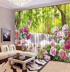 fiori per tende 3d personalizzato tende cortinas fiori cascata paesaggio