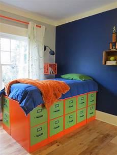 bett auf schrank diy filing cabinet bed shannon s
