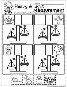measurement printables for kindergarten 1853 weight worksheets non standard measurement kindergarten grade one students measurement