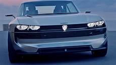 peugeot e legend concept car