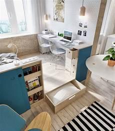 Schreibtisch Kleines Zimmer - kleines zimmer einrichten 38 kreative platzschaffende ideen