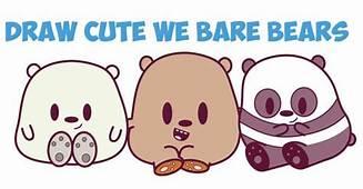 How To Draw We Bare Bears Cute / Kawaii Chibi Baby