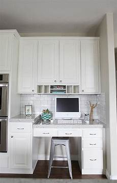 desk in kitchen transitional kitchen jana bek design