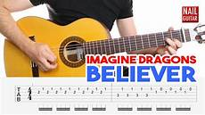 how to play song on guitar believer imagine dragons guitar lesson easy how to play acoustic songs chords tutorial
