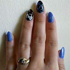 21 royal blue nail art designs ideas design trends